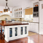 Modern Furniture White Kitchen Cabinets Decorating Design Ideas