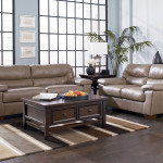 Modern Genuine Leather Sofa Couch Loveseat Set Living Room Furniture