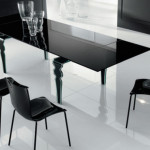 Modern Glass Dining Table Design Room The