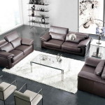 Modern Grey Leather Sofa Design And Care