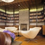 Modern Home Library Design Shelterness