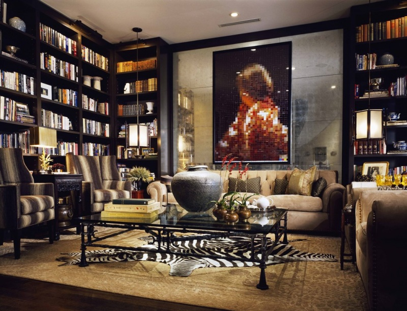 Modern Home Library Designs Inspire