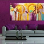 Modern Interiors Decorating Choosing Great Art For Your Home