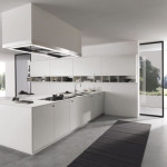 Modern Kitchen Design Featuring White Sets Picture