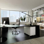 Modern Kontemporer Home Office Very Attractive Space Design