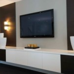 Modern Living Room Wall Mount Design Multifunctional And Stylish