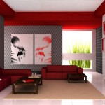 Modern Luxury Living Room Wall Papers