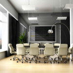Modern Office Meeting Room Small Design