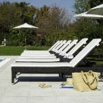 Modern Outdoor Chaise Lounge Ideas