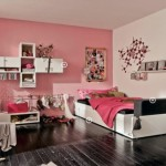 Modern Pink Teen Bedroom Decor Trendy Style And