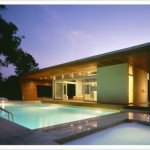 Modern Pool House Designed Forward Thinking New York Based Hariri