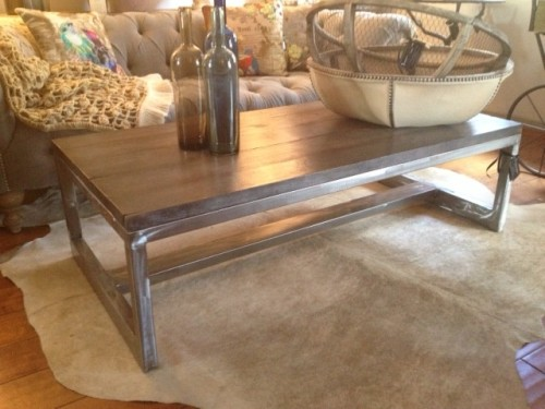 Modern Rustic Furniture Contemporary Coffee Tables Orange County