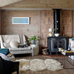 Modern Scandinavian Beach House Decorated Washed Wood Digsdigs