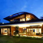 Modern Singaporean House Luxury Singapore Guz