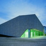 Modern Sport Hall Design Architecture Dry Stone Wall Azmyarch