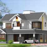 Modern Style Duplex House Kerala Home Design And