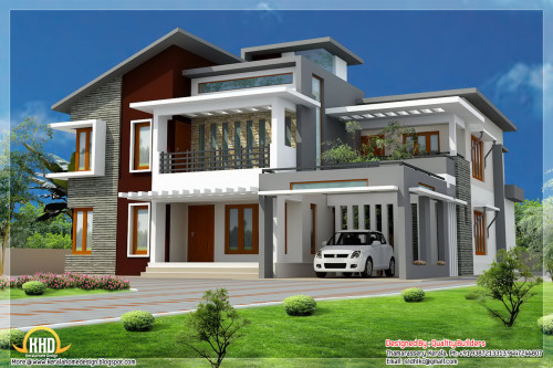 Modern Style Home Plans Kerala Design Architecture House
