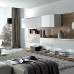 Modern Style Living Rooms Taupe White Stylish Contemporary