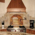 Modern Subway Tile Kitchen Backsplash Pictures Granite Worktops