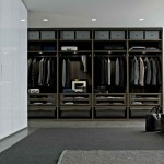 Modern Walk Closet Design Layout Senzafine