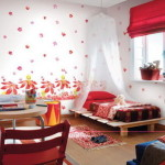Modern Wall Paint Ideas Colorful Decoration Bedroom