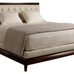 Moderne Platform Bed Tufted Baker Furniture Modern Beds