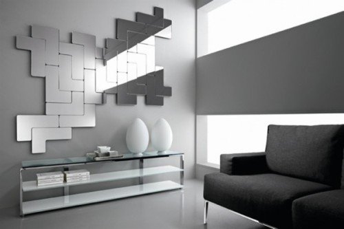 Modular Wall Mirrors Creative And Original Mirror Modern Designs