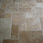 More About Contemporary Tile Display Travertine Pattern Floor