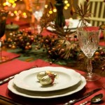 More Laid Back Table Setting Christmas Ball Different Colours