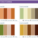 Most Popular Colors The Website Also Shows Very