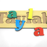 Name Puzzle Letters Tuzzles Playplus Wooden Jigsaw Puzzles