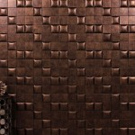 Nappatile Faux Leather Wall Tiles Details Interior Design