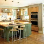 Narrow Kitchen Design Shape Simple And