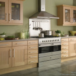 Natural Decor This Transitional Beech Wood Kitchen Features Soft