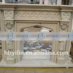 Natural Decorative Stone Gas Fireplaces Price