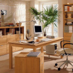 Natural Home Office Design Ideas