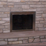 Natural Stone Fireplace Install