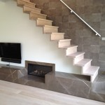 Natural Stone Fireplace Modern Fireplaces Amsterdam Tre