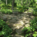 Natural Stone Patio Stones Pathways Lead Small