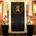 Navy Front Door For The Home