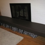 Needed Baby Proof Our Fireplace Hearth And Found Cheap Way