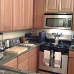 New Apartment Lots Kitchen Counter Space Sounds Great