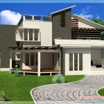 New Contemporary Mix Modern Home Designs Kerala Design And