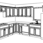 New Custom Kitchen Cabinets Sample Layouts
