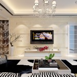 New Modern Living Room Wall Design Pictures