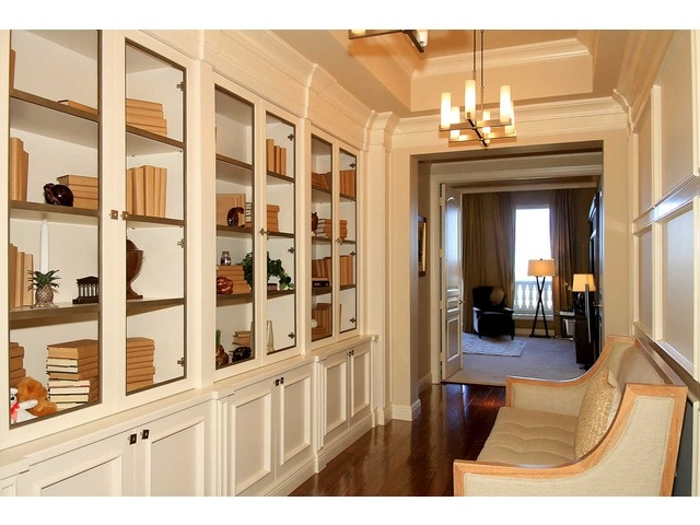Nice Bookcases This Penthouse The Colony Naples