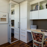Notice This Home Office Has Partial Wall Which Allows Privacy For