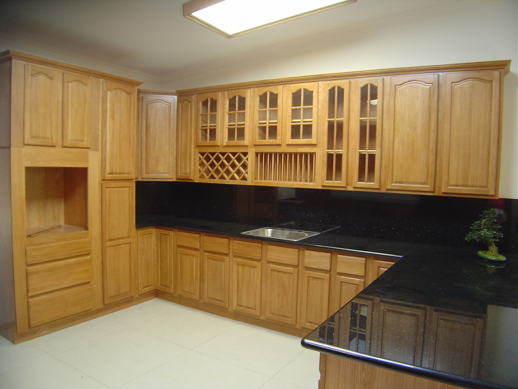 Oak Kitchen Cabinet Design Gallery Pictures Home House