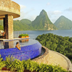 Oddarena Jade Mountain Lucia Where All Rooms Have Infinity Pools
