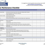 Offer The Service Completing Checklist Your Home And